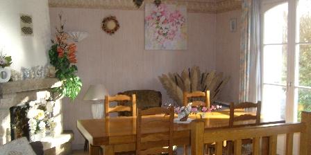Les Chambres d'Hôtes d'Evelyne Salle du petit déjeuner