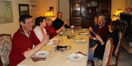 Les Etoiles Table d'hôtes le soir