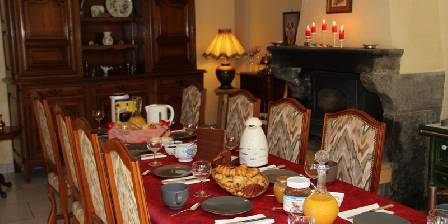 Les Etoiles Table petit déjeuner