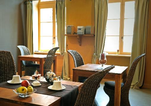 Chambre d'hote Loire - Le coin repas