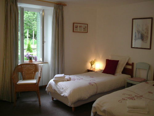 bed & breakfast Cantal - Twin room Alagnon