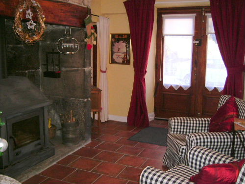 bed & breakfast Cantal - Enjoy the woodburner in winter