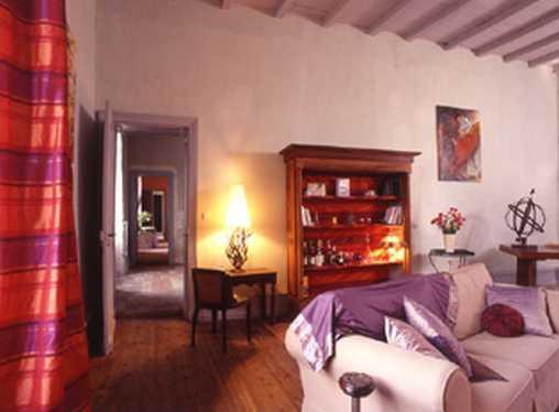 Chambre d'hote Charente-Maritime - le salon des hôtes