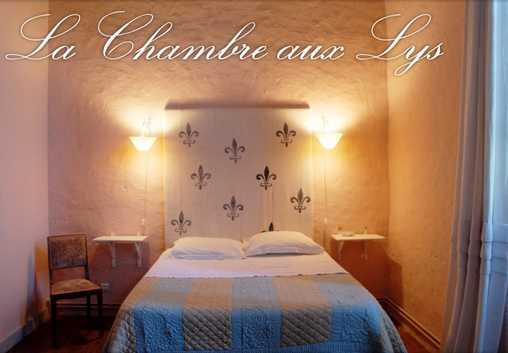 Chambre d'hote Charente-Maritime - la chambre Aux Lys
