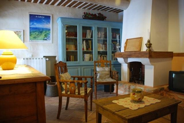 Chambre d'hote Vaucluse - BIBLIOTHEQUE