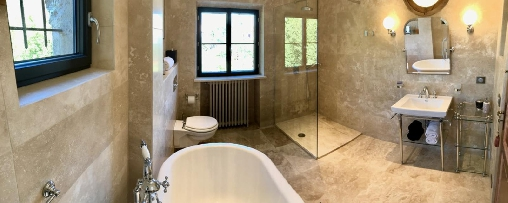 bed & breakfast Alpes Maritimes -  Pervenche bathroom