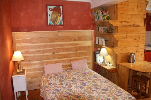 Chambre d'hote Alpes Maritimes - La chambre Rose