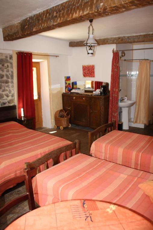 Chambre d'hote Alpes Maritimes - La chambre ô Pierres (4 P°)