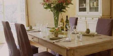 Maison des Cerises La salle à manger