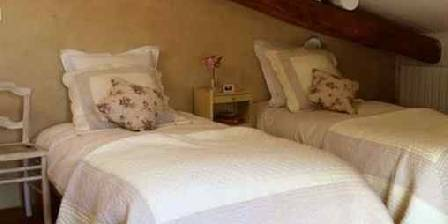 Maison des Cerises La chambre à 2 lits