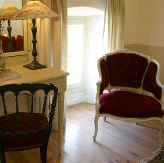 Chambre d'hote Bouches du Rhône - Vue de la suite Framboise