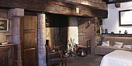 Maison d' Hôtes de Jeanne Chambre Cheminée