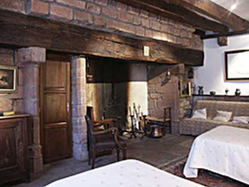 Chambre d'hote Corrèze - Chambre Cheminée