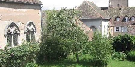 Maison Sainte Barbe Maison Sainte Barbe côté jardin