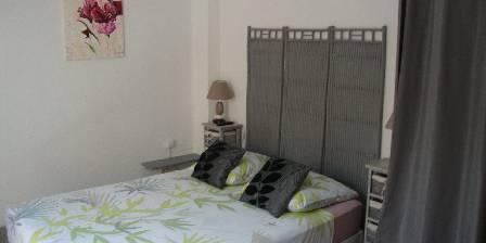 Maison Soleil Bleu Chambre bambou