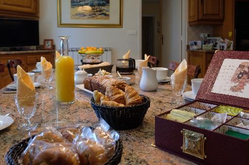 Petit-déjeuner du Domaine de Malouziès