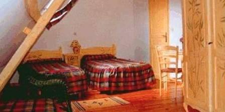 Manoir de Bois en Ardres Chambre Bambou