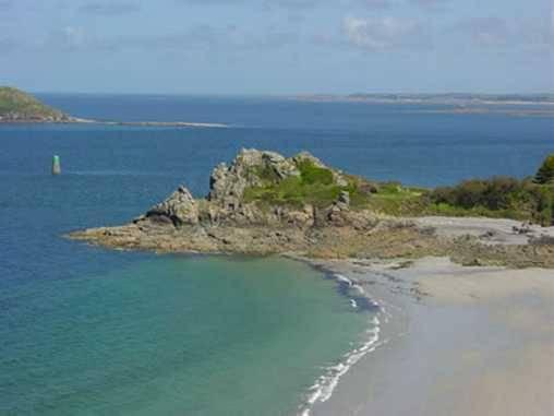 Proche du manoir, la plage de Trestrignel