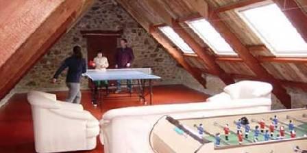 Chambre d'hotes Manoir de Kercadic > La salle de jeux
