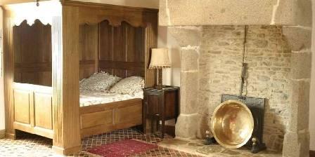 Manoir de la Foulerie Chambre à baldaquin