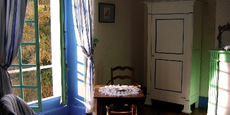 Le Manoir de Tarperon La chambre bleue