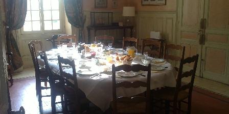 Le Manoir de Tarperon Le petit déjeuner