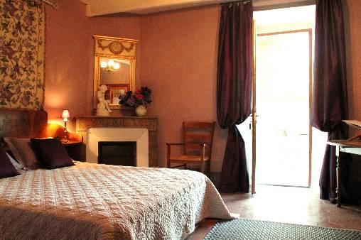 Chambre d'hote Ardèche - La chambre Eglantine