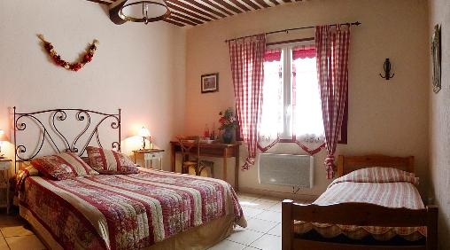 Chambre d'hote Vaucluse - chambre triple