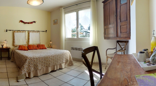 Chambre d'hote Vaucluse - Chambre double