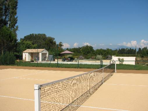 bed & breakfast Vaucluse - Tennis Court