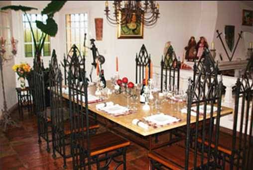 Chambre d'hote Alpes Maritimes - La table d'hôtes