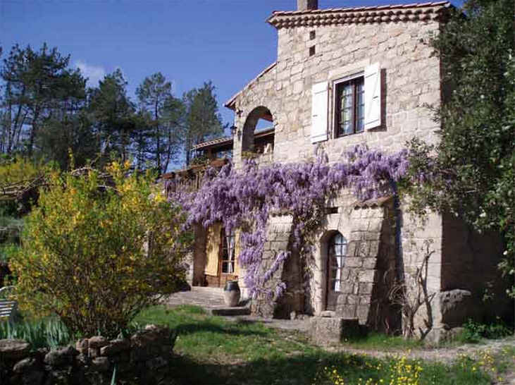 Bed & breakfasts Ardèche, from 68 €/Nuit. House of character, Les Vans (07140 Ardèche), Charm, Guest Table, Swimming Pool, Sauna, Garden, Park, WiFi, 4 Single Bed(s), 8 Maximum People, Library, Chimeney, 3 Epis, Travel Ch...