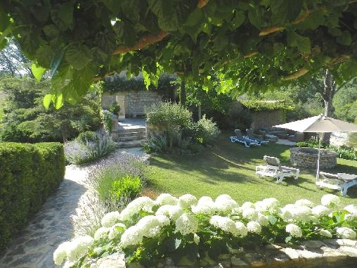 Jardin Mas Vacquières