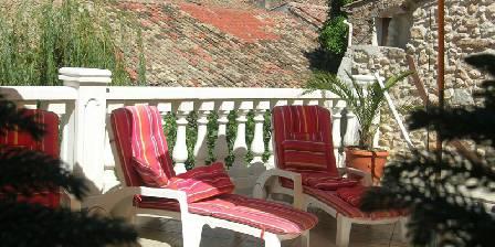 Le Clos Mazerolles La terrasse
