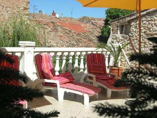Chambre d'hote Hérault - La terrasse
