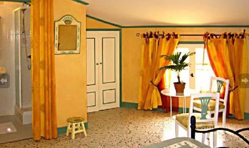 Chambre d'hote Hérault - chambre orange