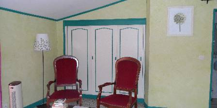 Le Clos Mazerolles Chambre verte