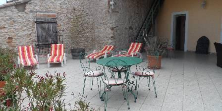 Le Clos Mazerolles Terrasse