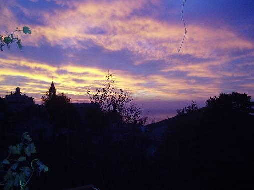 Lever de soleil sur FIGARELLA