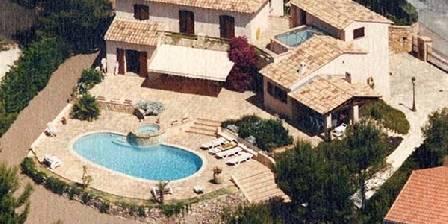 Villa Melodie Vue aérienne de la Villa Mélodie Boulouris