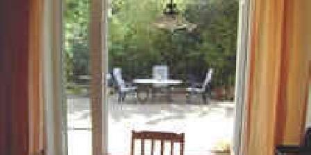 Manoir des Menestrels La terrasse du gîte