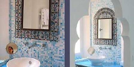 Villa Mercedes Salle de bain chambre Marocaine