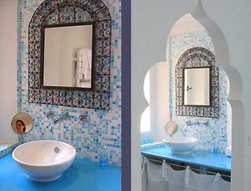 Salle de bain chambre Marocaine