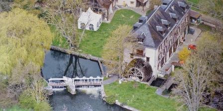 Moulin de la Forte Maison Vue aerienne