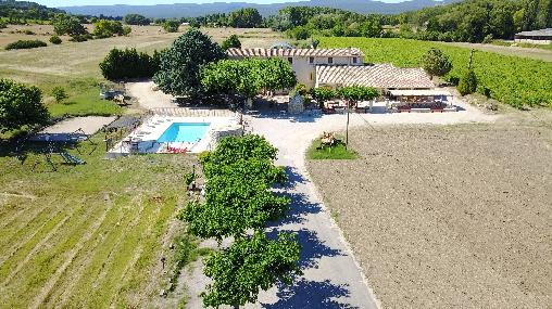 Chambre d'hote Vaucluse - Mas provençal authentique