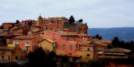 Moulin de Lavon Roussillon 45 min à pied depuis Le Moulin de Lavon