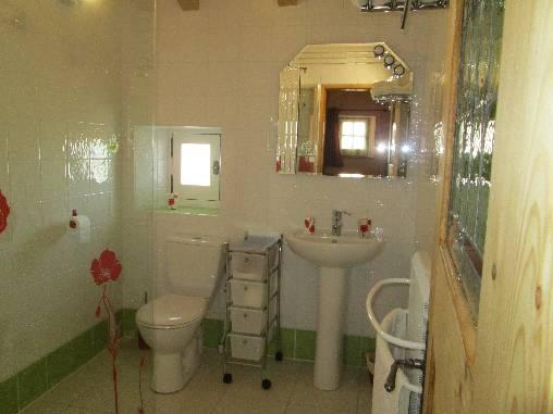 La salle d'eau des Coquelicots
