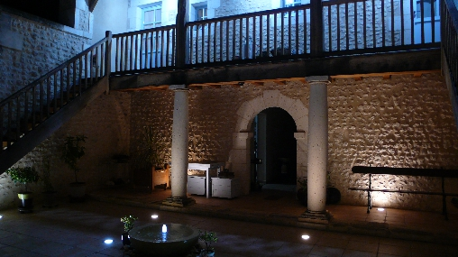 patio de nuit