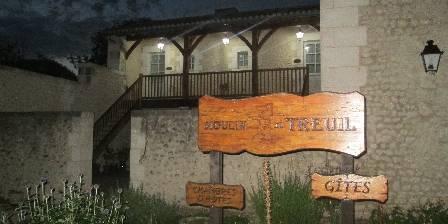 Moulin du Treuil Entrée de nuit