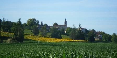 Moulin du Treuil Village vu des chambres